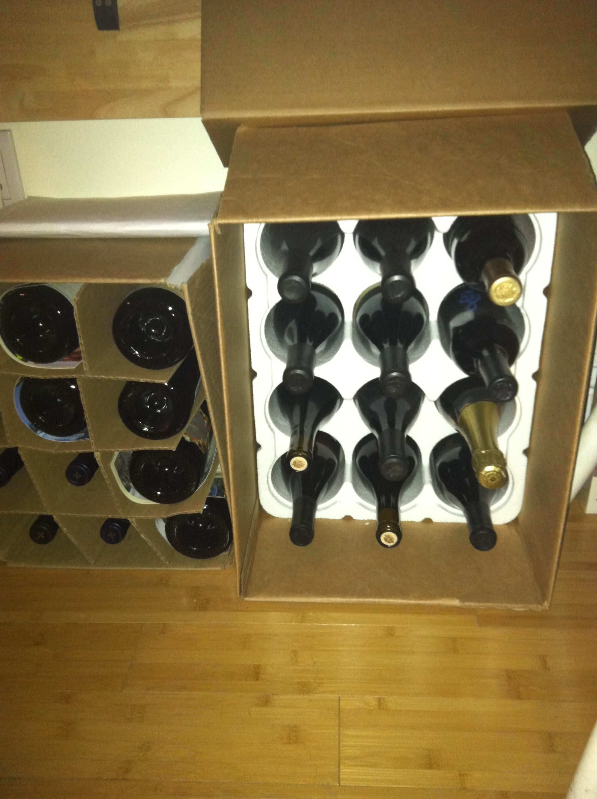 build wine cube